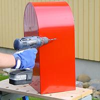 Bobi large capacity letterbox