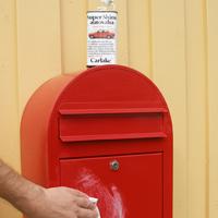 Maintenance Bobi Classi letter box Red